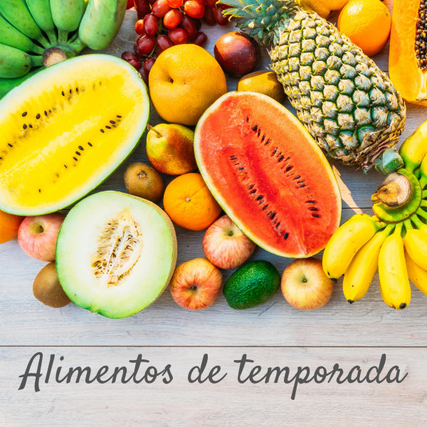 VERANO – Alimentos de temporada