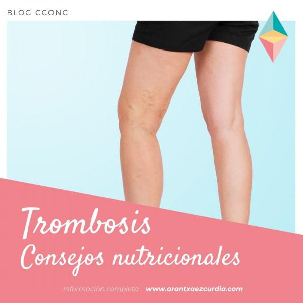 Tromobosis, consejos nutricionales