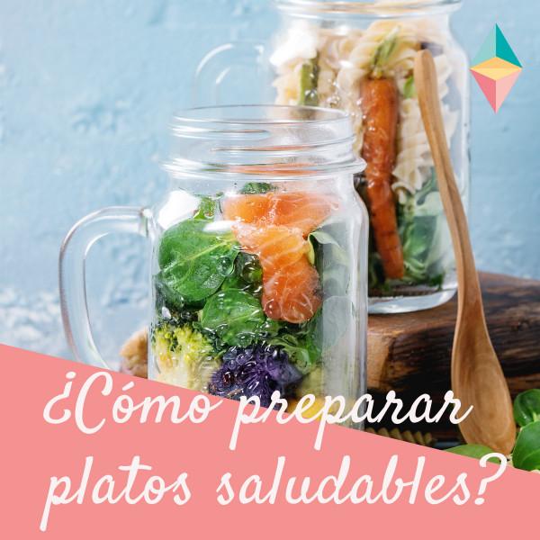 ¿Cómo preparar platos saludables en poco tiempo?