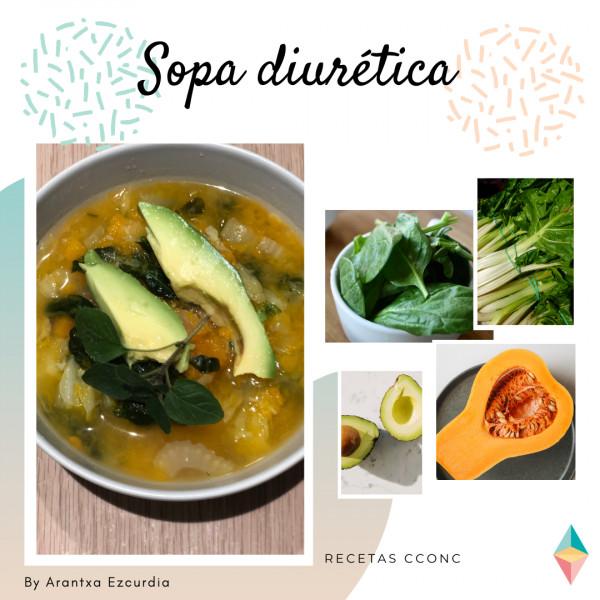 Receta de la sopa diurética