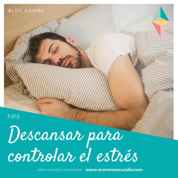 Descansar para controlar el estrés