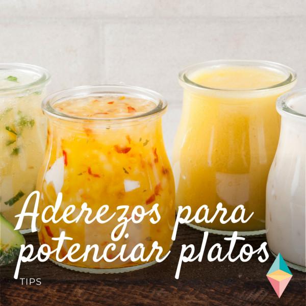 Aliños y aderezos para potenciar sabor y nutrientes