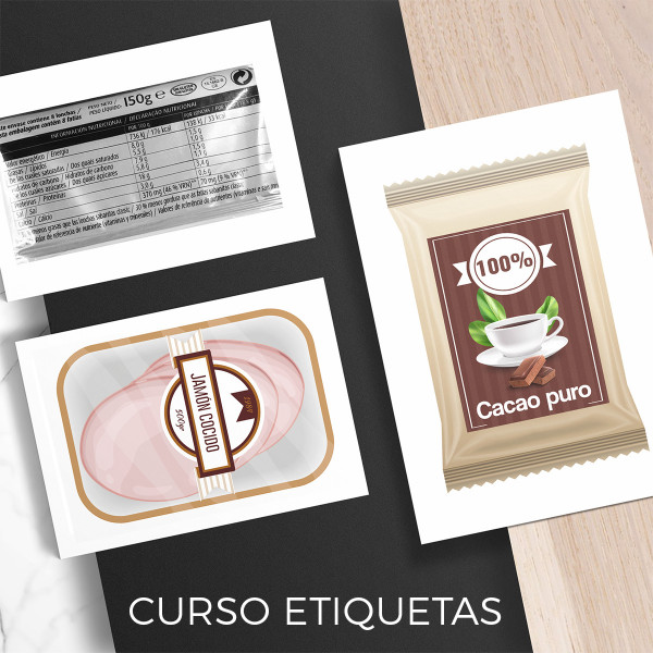ETIQUETAS - Curso batch cooking